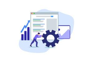 google analytics custom data search engine